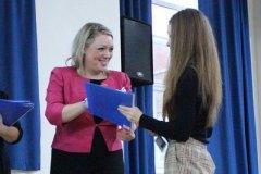 Fleur Sexton DL - Awards presentation