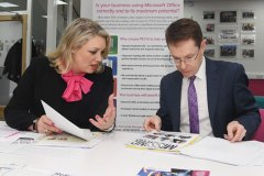 West Midlands Lord Mayor - Andy Street office visit