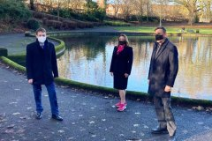 Nauls Mill Park outdoor meeting