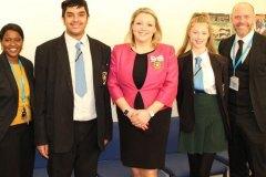 Fleur Sexton DL - School visit