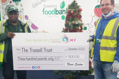 Trussell Trust donation