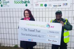 Trussell Trust Foodbank donation